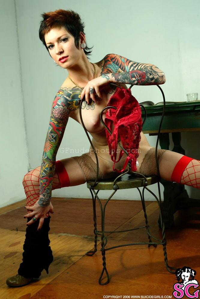 Thin redhead milf nude